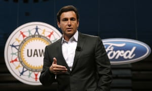 Ford president and CEO Mark Fields.