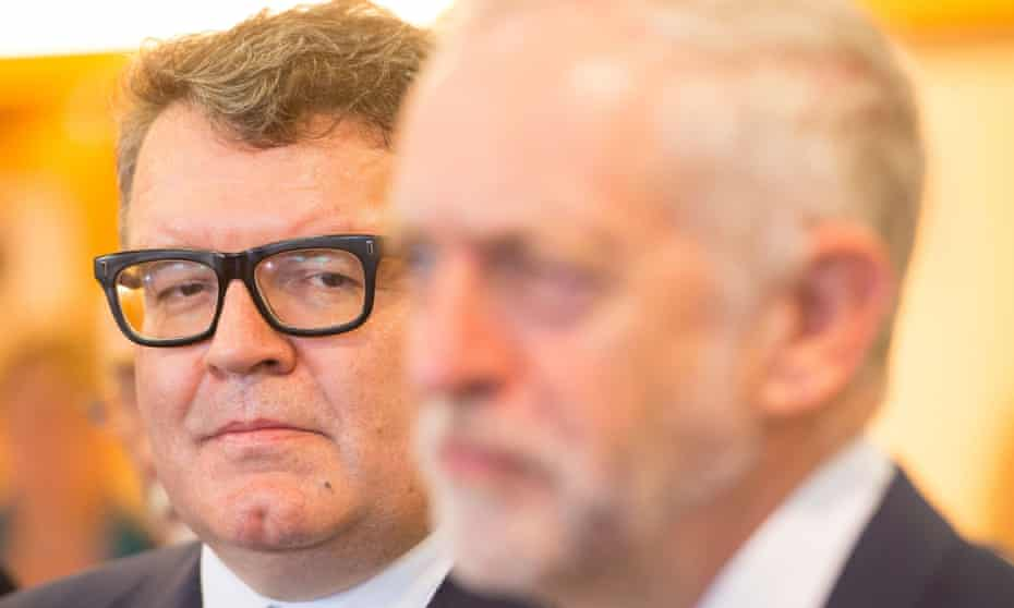 Labour's Tom Watson and Jeremy Corbyn