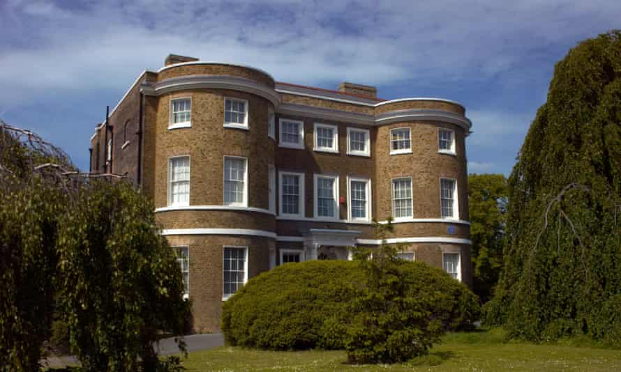 Front view of William Morris Gallery in Walthamstow London