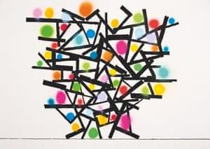 Atomic Drawing 18, 2011, David Batchelor.