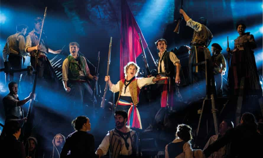 To the barricades … Les Misérables.