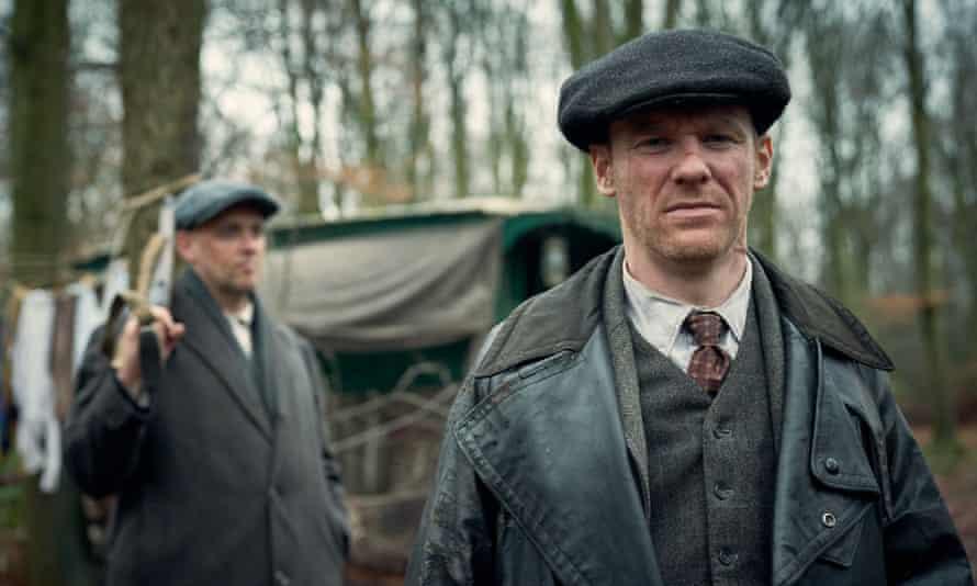 Hats off ... Brian Gleeson as Jimmy McCavern in Peaky Blinders.