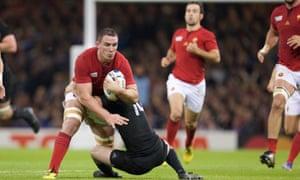Rugby World Cup quarter-final New Zealand v France