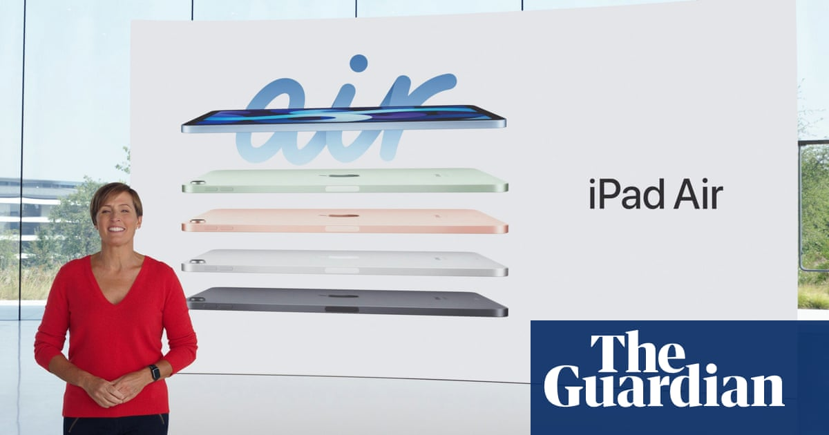 Apple launches new iPad Air and Apple One subscription – The Guardian
