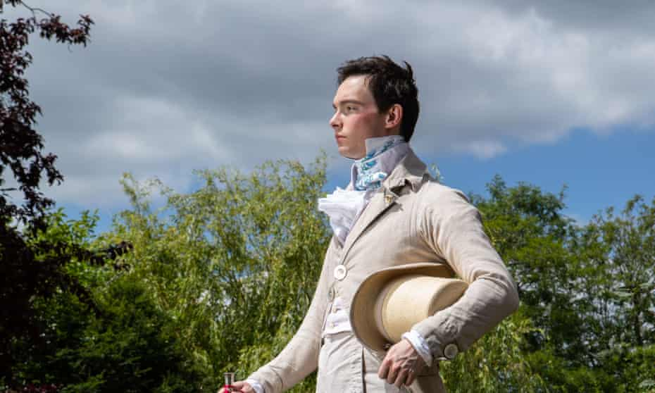Zack MacLeod Pinsent, who makes all his own clothes and dresses in Regency style.