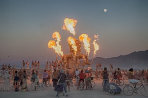 The Burning Man festival takes place on public land at the Black Rock Desert in Nevada