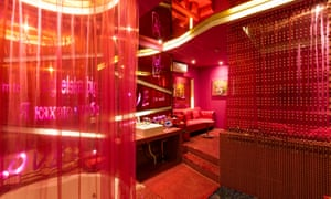 The Eternity Room at the Lots of Love Hotel in Beijing.