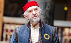 Jonathan Pryce as Shylock in The Merchant of Venice.