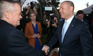 Treasurer Josh Frydenberg says Labor plans to impose $387bn of new taxes. Bill Shorten disagrees and says Labor is 'cracking down on a loophole'.