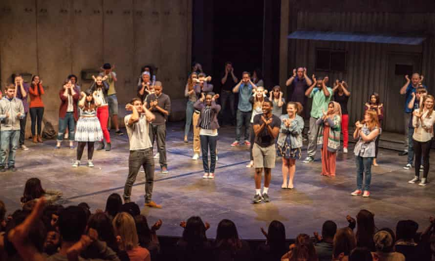 A Shakespeare student conference at the National Theatre