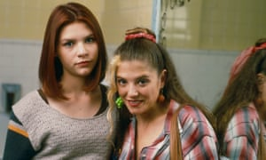 Claire Danes as Angela and AJ Langer as Rayanne in My So-Called Life