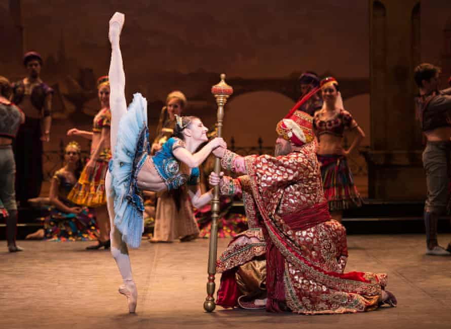 'It's about slaves, women chained up' … English National Ballet's 2013 production of Le Corsaire, with Alina Cojocaru.