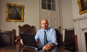 Alistair Cunningham, the chair of the recovery coordination group, pictured at Salisbury city council.