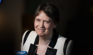 Helen Clark is hoping she could be the 'lowest common denominator' in the race to become UN secretary-general, one expert said.