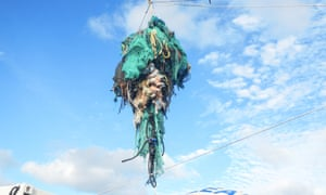 It is estimated there will be more waste plastic in the sea than fish by the year 2050.