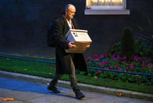 London, UKDominic Cummings, special advisor for Britain's Prime Minister Boris Johnson leaves 10 Downing Street