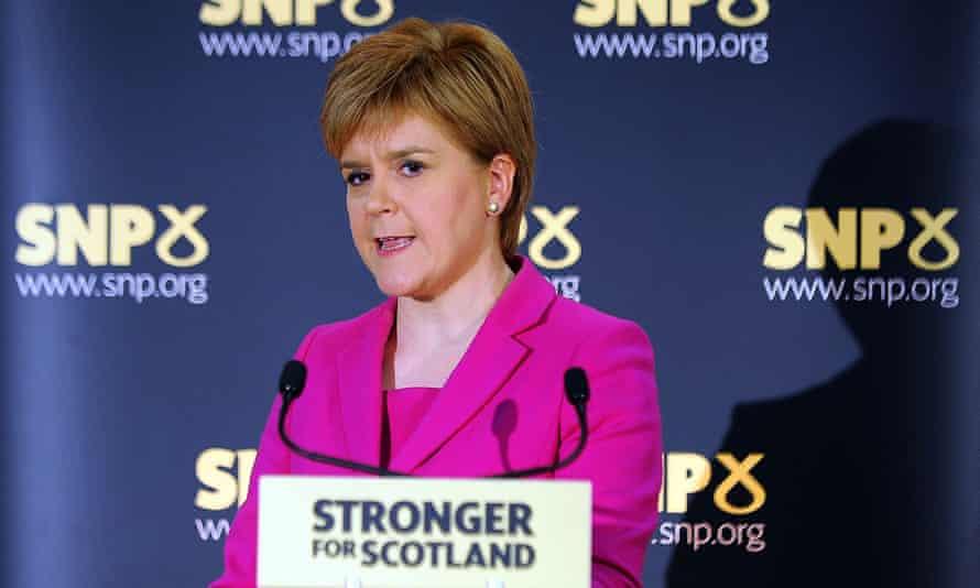 Nicola Sturgeon's speech in Stirling was 'pretty thin gruel'.