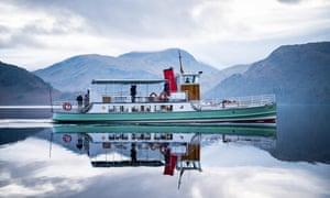 Boat trip on Ullswater, Lake District