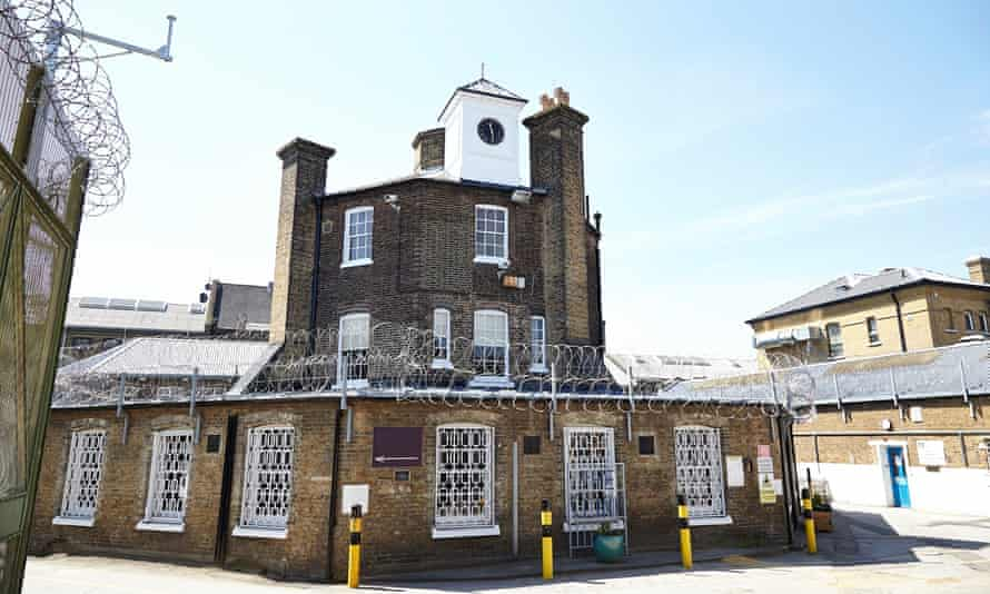 The Clink restaurant at Brixton prison in London.
