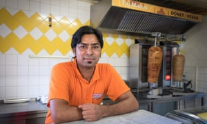Gargaria Paramjit Singh, employee at the Taj Mahal in Oppach