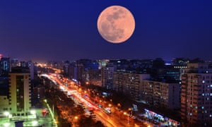 Beijing, China … outer space offers hopes of freedom in Red Moon.