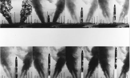 The launch sequence of a Titan II missile in 1963.