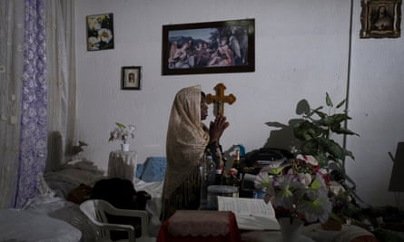 Prophetess Odasani says she drives out the spirits afflicting women who come to her backstreet 'church' in Palermo.