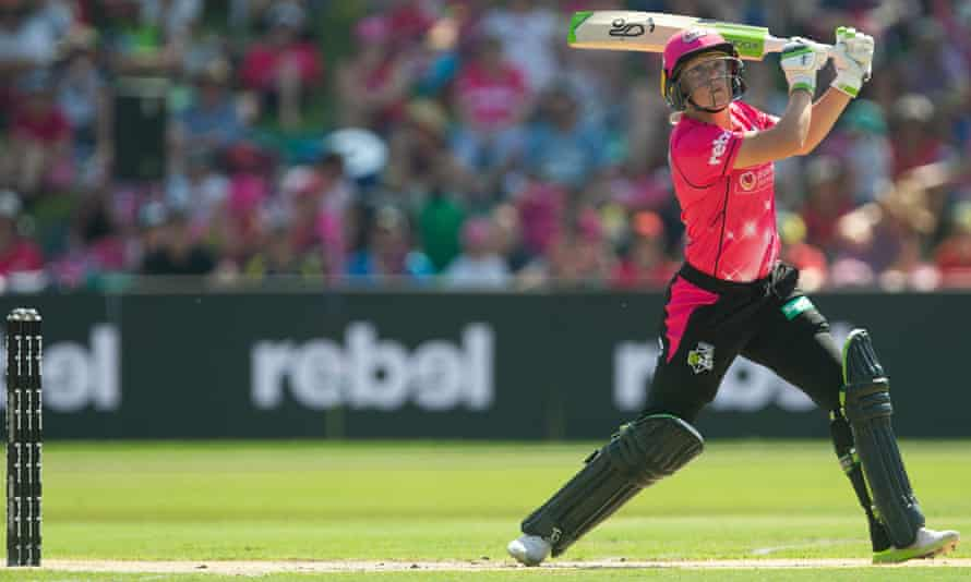 Alyssa Healy of the Sydney Sixers