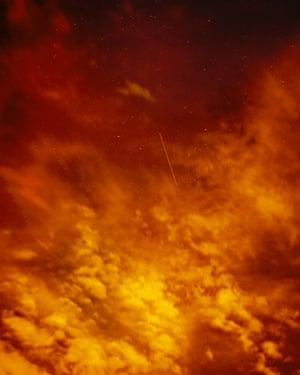 Optical Reconnaissance Satellite Near Scorpio (USA 129), 2007, by Trevor Paglen