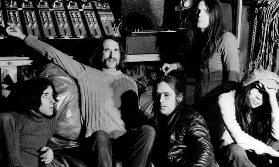 Can in 1972 in their Inner Space studio