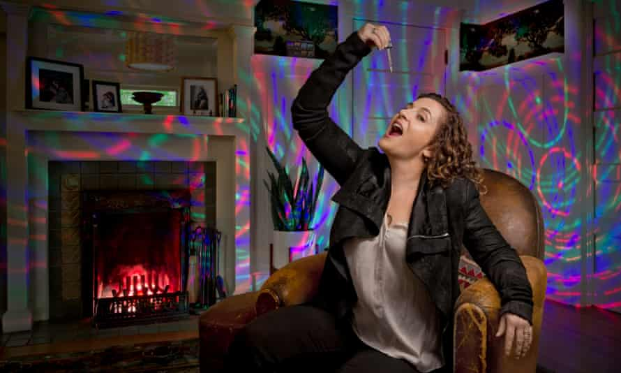 Here comes happiness: Ayelet Waldman at home.