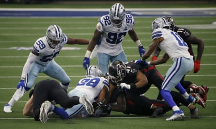 The moment the Atlanta Falcons failed to stop the Dallas Cowboys recovering an onside kick