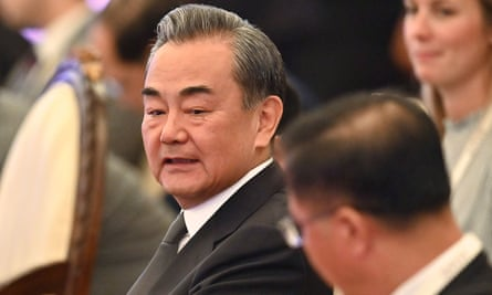 China's foreign affairs minister, Wang Yi