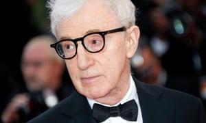 Woody Allen seen in Cannes in May 2016.