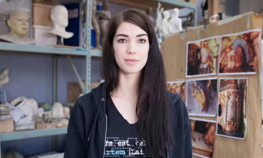 In the toy factory … SFX technician Emily Pooley.