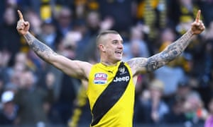 Dustin Martin of the Tigers