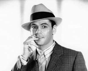Original gangster … Paul Muni in Howard Hawks's 1932 Scarface.