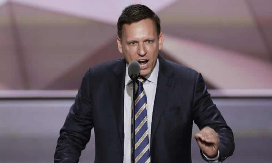 Peter Thiel, the co-founder of Palantir