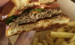 Impossible Foods' 'meaty' burger is actually made from plants.