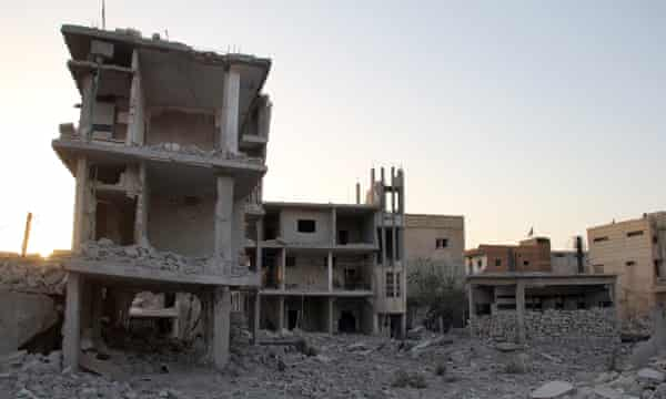 Daraa, Muzoon's home town in Syria