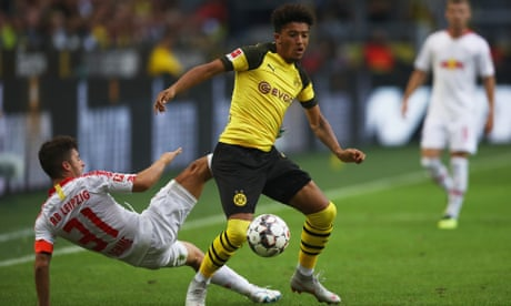 Jadon Sancho, the street footballer with potential to be England's Neymar