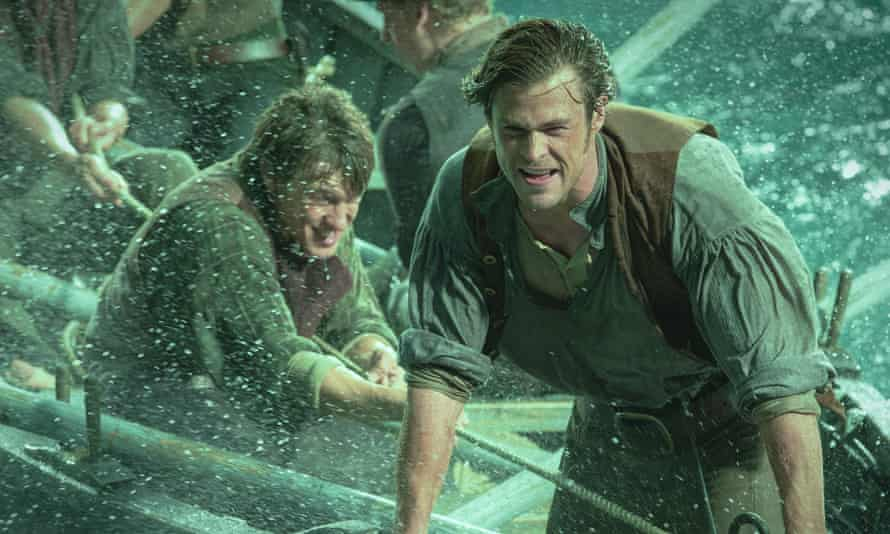 A deadly catch: Chris Hemsworth in In The Heart of the Sea