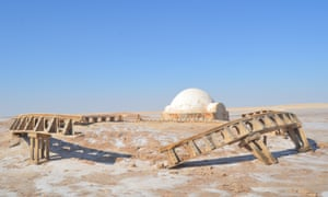 The Lars homestead is probably the most iconic of all the Star Wars locations.