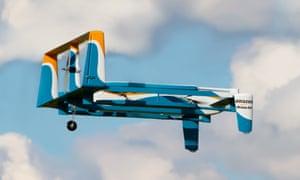 An Amazon Prime drone