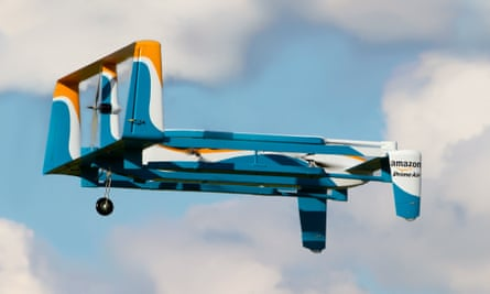Amazon Prime is promising to deliver packages weighing under five5 pounds in 30 minutes or less.