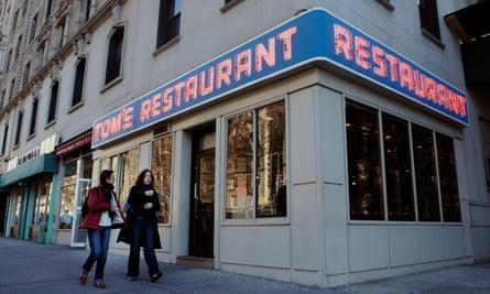 'De der der der, de der der der' … Tom's Restaurant, Vega's inspiration.