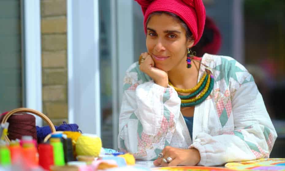 Aya Haidar - visual artist shot at her home for OM