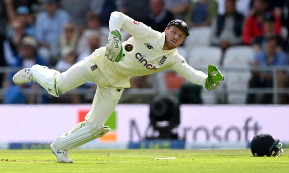 Jos Buttler became only the second wicketkeeper in Test history to take the first five wickets in an innings caught behind.
