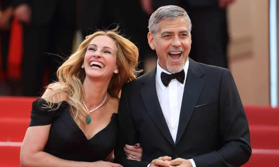 Julia Roberts and George Clooney at the 69th Annual Cannes Film Festival in 2016.
