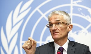 Mark Lowcock, UN Under-Secretary-General for Humanitarian Affairs and Emergency Relief Coordinator.